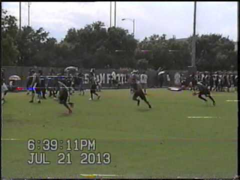 Max at Texas A&M combine performing dB drills 150602 0