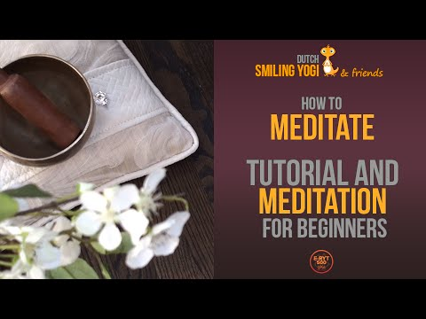 Meditation for Complete Beginners - Free 25 minute training with tutorial