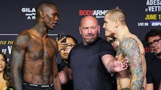 UFC 263 Битвы взглядов