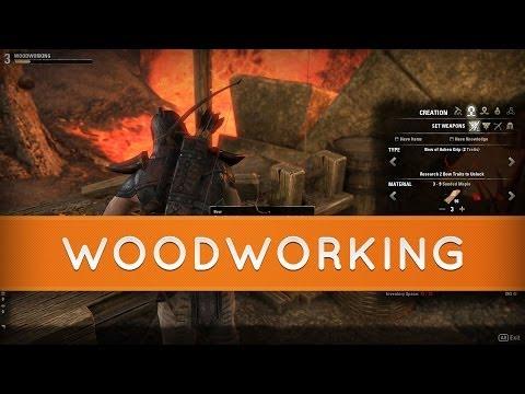 The Elder Scrolls Online: Woodworking