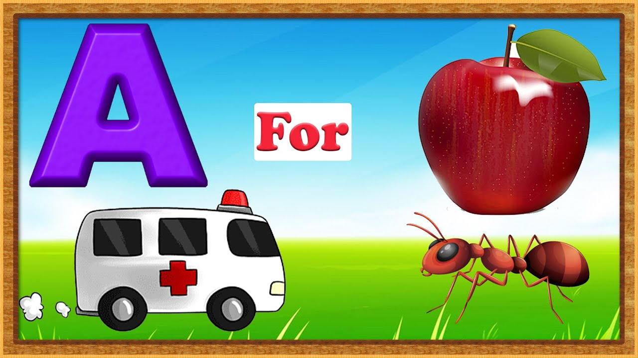 Kids Learning Videos For Kids | Kids A to Z | Learn ABC For Kids