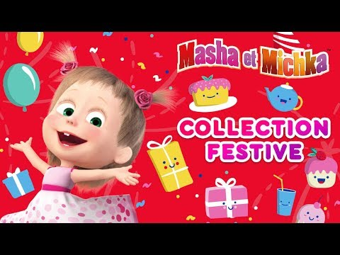 Masha Et Miсhka - 🎈🎁Collection Festive! 🎉🎈 (Épisodes 50, 36, 38, 68)