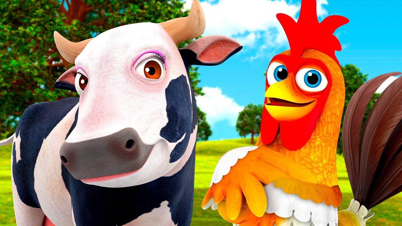 La Vaca Lola Acumulativa y Más Canciones de La Granja de Zenón | El Reino Infantil