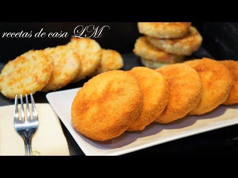TORTITAS DE ARROZ si te sobra arroz NO LO TIRES