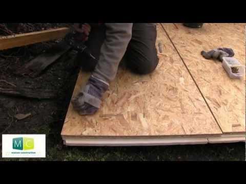 Plancher isolation, isolation extérieure