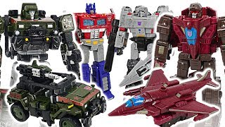 Transformers War for Cybertron: Siege! Hound, Optimus Prime VS Skytread, Megatron! #DuDuPopTOY