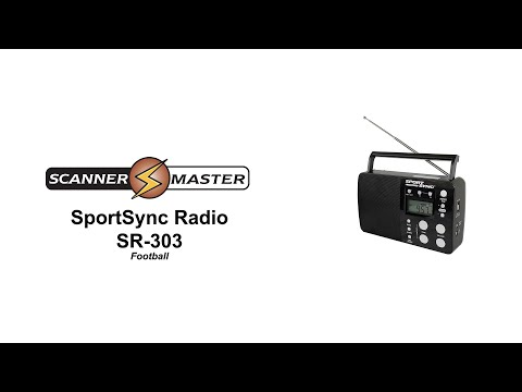 SportSync Radio SR 303 | Football