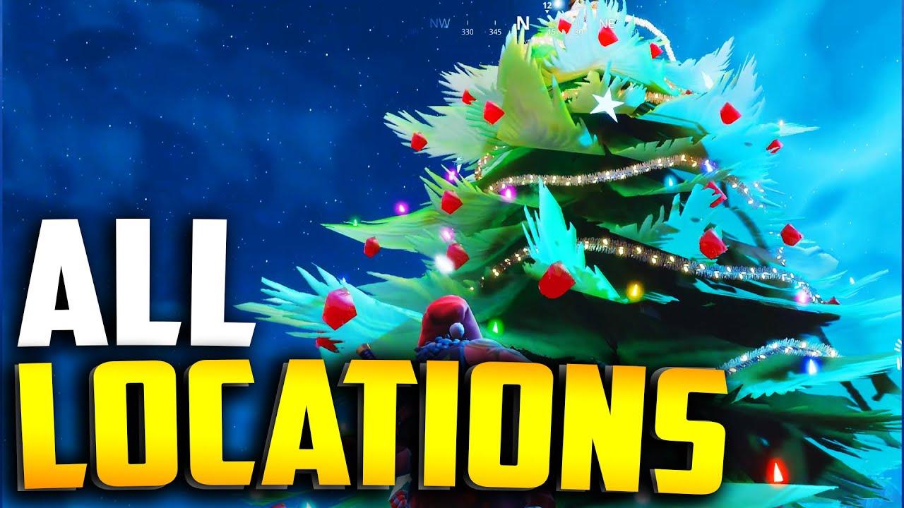 Fortnite Christmas Tree Locations.All Christmas Tree Locations In Fortnite Season 7
