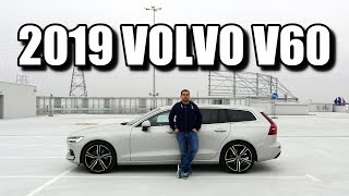 2019 Volvo V60 - Swedish smaller estate (ENG) - Test Drive and Review