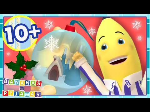 Merry Christmas Bananas! 🎄 | Cartoons for Kids | Bananas In Pyjamas from YouTube · Duration:  12 minutes 25 seconds