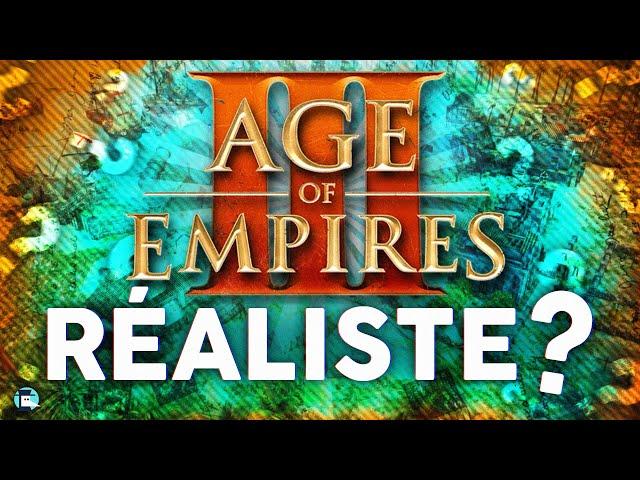 Age of Empires III est-il réaliste ?