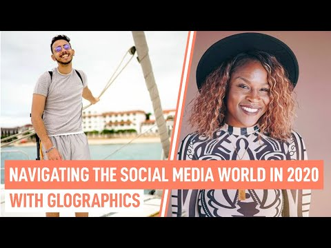 Navigating the social media world in 2020. The samybbm show ft. Glographics
