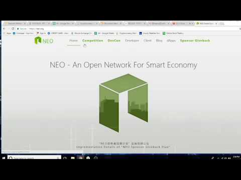 Neo Gas Coin Staking
