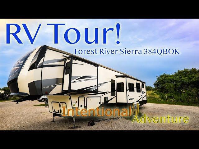 RV Tour! /Forest River Sierra/ Family Travel