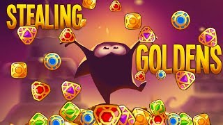 STEALING GOLDEN GEMS! | King Of Thieves