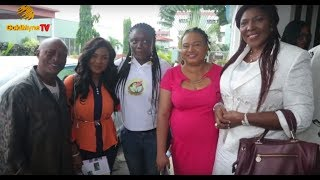 RACHEAL ONIGA IYABO OJO DORIS SIMEON ATTEND HOLISTIC HEALTH FOR LEGENDS amp ICONS IN NOLLYWOOD