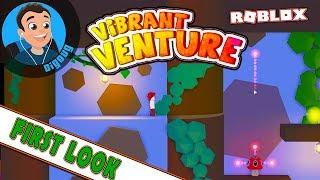 Mein erster Blick auf Roblox Vibrant Venture, ein tolles neues Roblox-Spiel und ein Old-School-Seitenscroller!