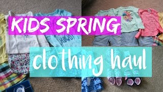 Kids Spring Clothing Haul
