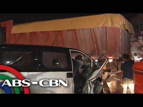 UKG: Karo, bumangga sa trak; bangkay, tumilapon sa kabaong