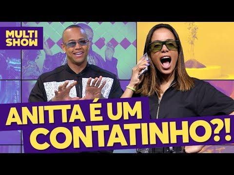 ANITTA é um CONTATINHO de Léo Santana? 😳  TVZ  Música Multishow