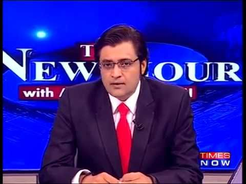 Arnab Goswami on Rajnath Singh's Hard-Hitting Speech in Pakistan