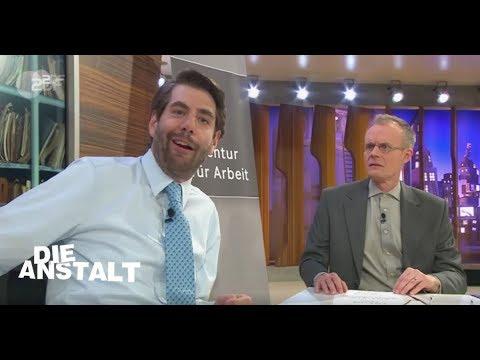 Imagefilm Jobcenter - Die Anstalt vom 24. April 2018   ZDF