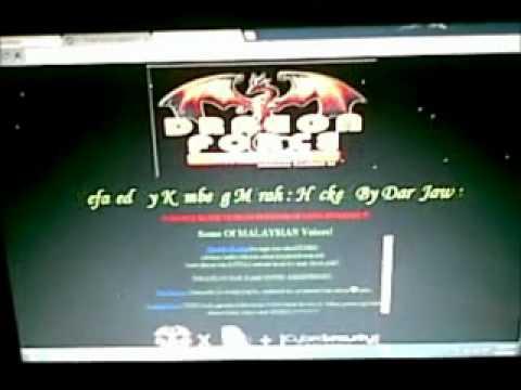 serangan hacker pada web kerajaan malaysia