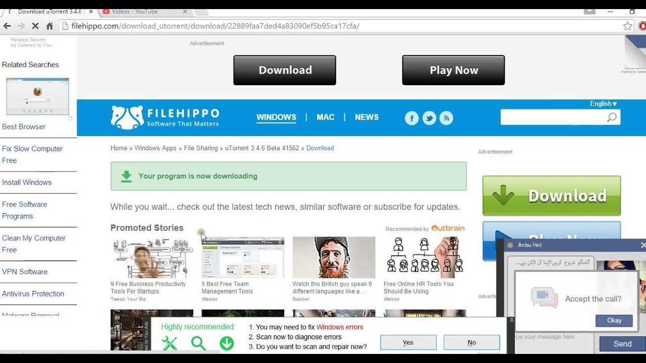 utorrent 64 bit windows 10 filehippo