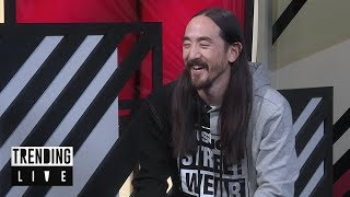 Steve Aoki announces new music with BTS for 2018 Trending Live