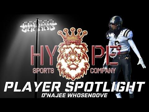 Player Spotlight: D'Najee Whosendove | Allendale Fairfax High School Football Highlights