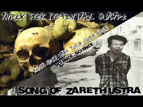Index for Potential Suicide & Song of Zarathustra spilt