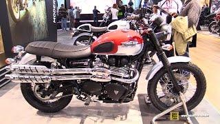 2015 Triumph Scrambler 900 - Walkaround - 2014 EICMA Milan Motorcycle Exhibition