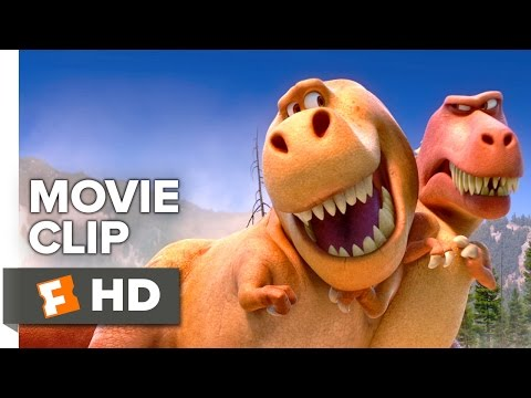 The Good Dinosaur Movie CLIP - T-Rexes...