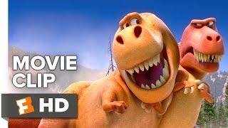 El Buen Dinosaurio de CLIP de Película - T-Rex (2015) - Pixar Película HD