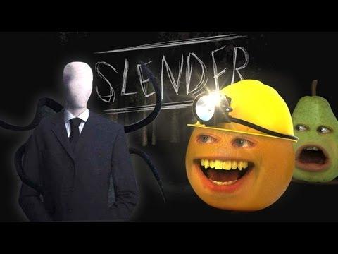 Annoying Orange Vs. Slender