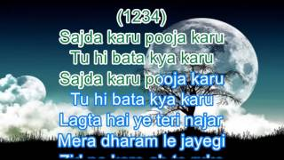 Zid Na Karo Karaoke with Scrolling Lyrics - Yesudas