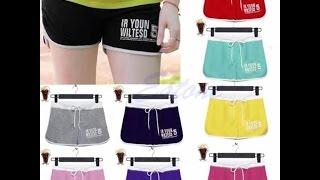 Спортивные шорты  с Aliexpress(Women Shorts ссылка на шорты http://ali.pub/3qbxz http://ali.pub/30jc7 Покупки все делаем через кэшбек-сервис, так выходит экономнее..., 2016-04-27T00:06:17.000Z)