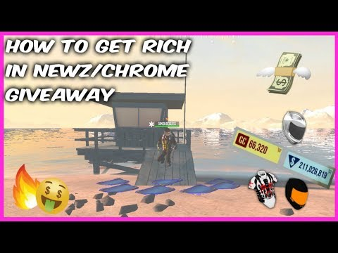 How To Get Rich In NewZ/Chrome Moto Giveaway (FULL GUIDE)