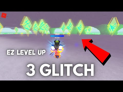 *3 GLITCH* FAST LEVEL UP [STRONGEST PUNCH] ROBLOX
