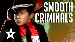 Smooth Criminals 5 Amazing Michael Jackson Tributes  Got Talent Global