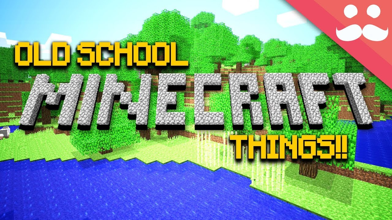 Things only ORIGINAL MINECRAFTERS Remember! image