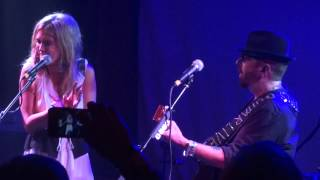 "Dave Stewart & Delta Goodrem ""You Have Placed a Chill..."" Troubadour Sept 28, 2012"
