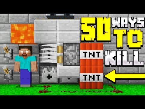 50 WAYS TO KILL HEROBRINE IN MINECRAFT!