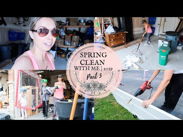 SPRING CLEAN WITH ME 2019 | PT. 3 GARAGE DECLUTTER