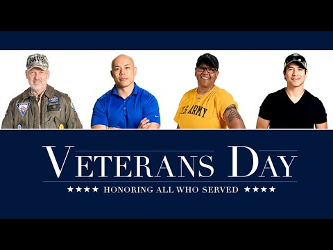 Trump recognizes 'America's greatest living heroes' on Veterans ...