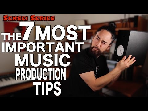 The 7 Most Important Music Production Tips