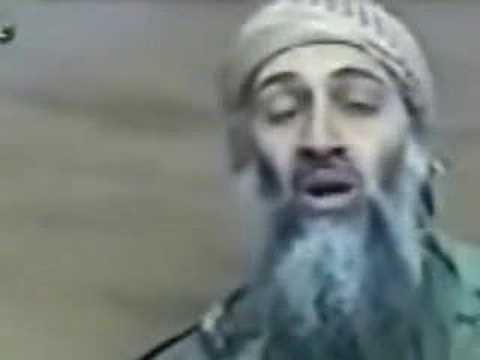 Bin Laden Sings The Mumble Song