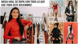 Mega Haul de Ropa, Compras Acumuladas de Diciembre, Affordable Fashion | Almalatina29