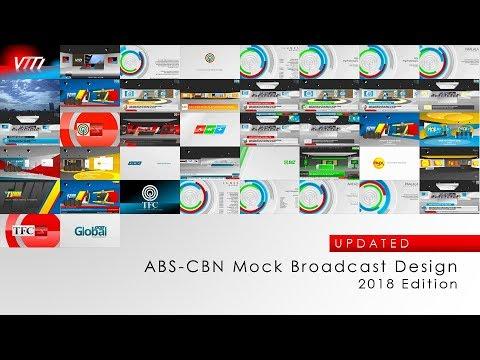 [UPDATED] ABS-CBN Mock Broadcast Design (2018)