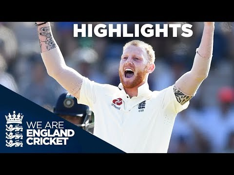 England Secure Test And Series Win | England v India 4th Test Day 4 2018 – Highlights